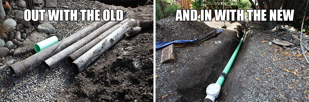 Sewer Repair | Before and After